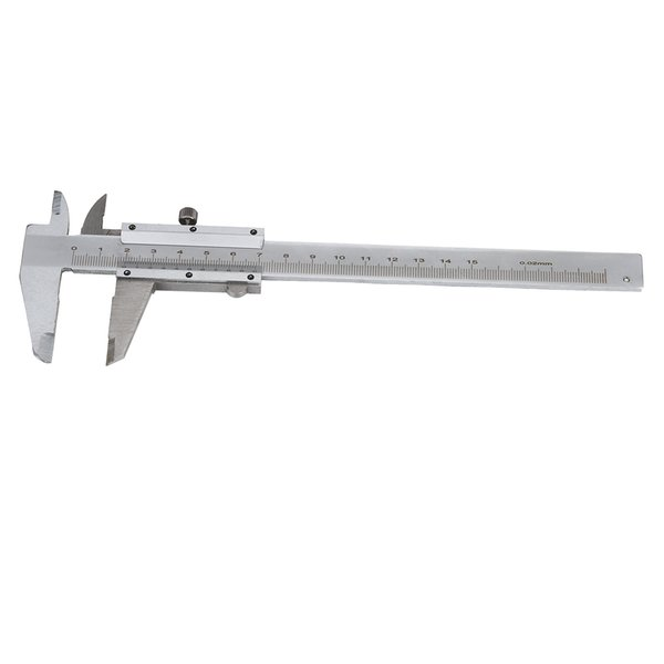 """Wholesale Brand New 0-150mm 6"""" Vernier Caliper Micrometer Guage Pro Measuring Tool ,Stainless Steel,Silver Color"""