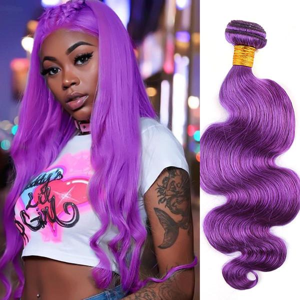 Body Wave Wavy Brazilian Virgin Human Hair Extensions Double Weft