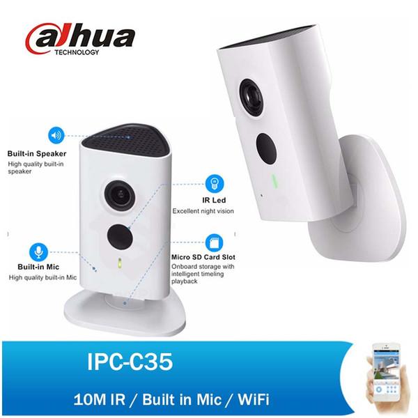 Dahua Ip Camera Ipc C35 3mp C Series Wi Fi Network Camera 2018 Hot Sale  English Firmware With Dahua Logo Ip Camera Installation Ip Camera Internet