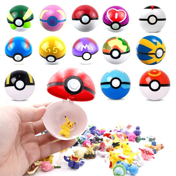 best selling Hot sale Classic Action Anime Figures With Ball Fairy Super Ball Master Ball Kids Toys Gift
