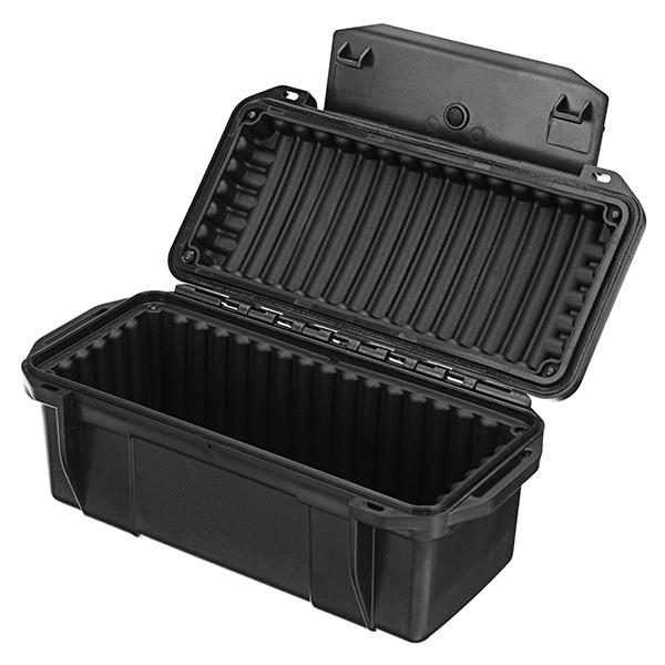 Outdoor Shockproof Waterproof Boxes Survival Airtight Case Holder Storage Matches Tools Travel Sealed Containers Storage Box X049