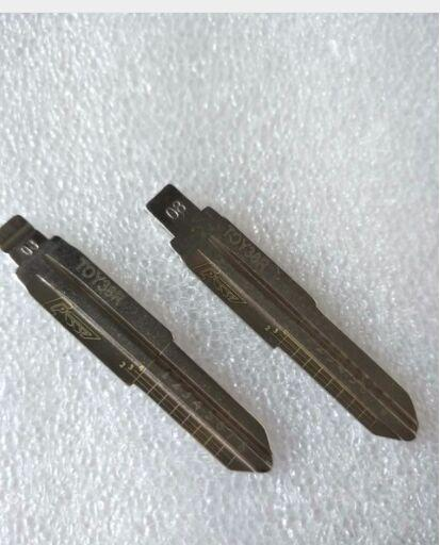 10pcs Engraved Line Key for Hafei Daewoo 2 in 1 LiShi TOY38R YOUPU Engraving Line Key Blank free shipping