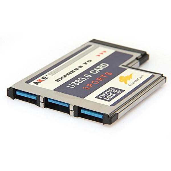 Converter 2 Port Notebook Accessory Express Card 34MM  Adapter USB 3.0
