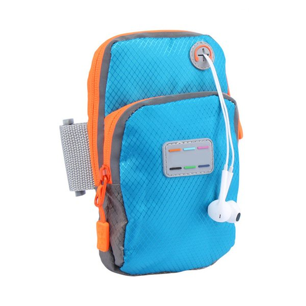 New Running Jogging GYM Mobile Phone Bag Sports Wrist Bag Arm Outdoor Waterproof Nylon Hand For Fitness