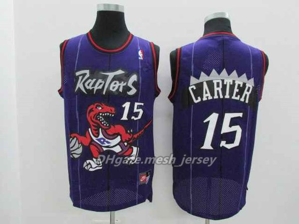 premium selection 4ad1c 28b5c 2018 High Quality Retro Men Toronto Basketball Raptors Jersey Leonard  1Tracy McGrady 15 Vince Carter Jerseys Purple Black White From Opojersey,  ...