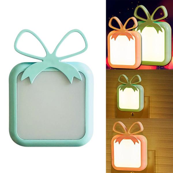 Lichtsensorsteuerung Led Nachtlicht Lampe Mini Romantische Us-stecker Nachtlichter Für Schlafzimmer Babyroom Nachttisch Tischbeleuchtung