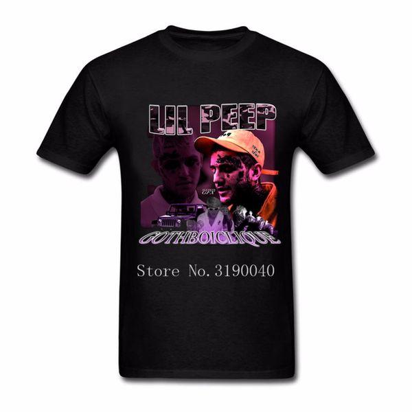 Оптовая Lil насос peep футболка мужчины хип-хоп музыка футболка уличная с коротким рукавом большой размер уникальный тройник хлопок печатных Harajuku топы