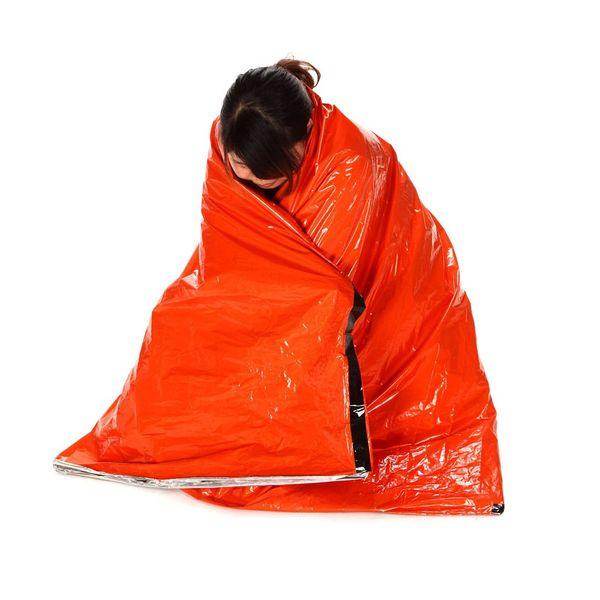 Y1759 Portable Emergency Sleeping Bag Polyethylene Sleeping Bag Outdoor Camping Travel Hiking Sleeping Bag