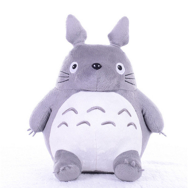 Dorimytrader 26'' Hot Japan Anime Totoro Plush Toy Giant 65cm Cute Cartoon Stuffed Totoro Doll Kids Pillow Baby Present DY61460