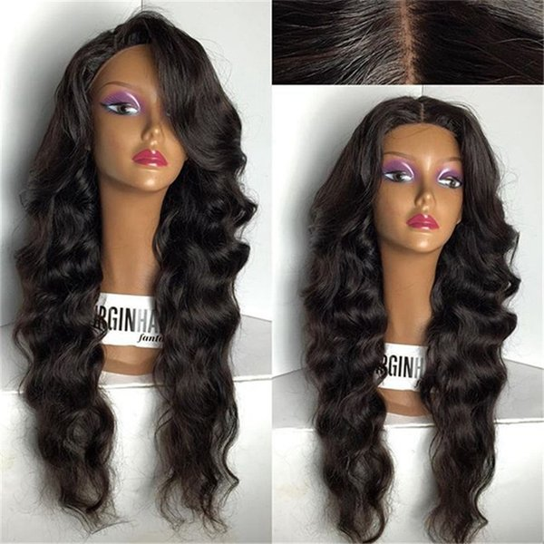 Brazilian Hair Wigs For Black Women Full Lace Wigs Lace Front Wig Loose Wave Swiss Lace Customized Free Shipping For Black Woman