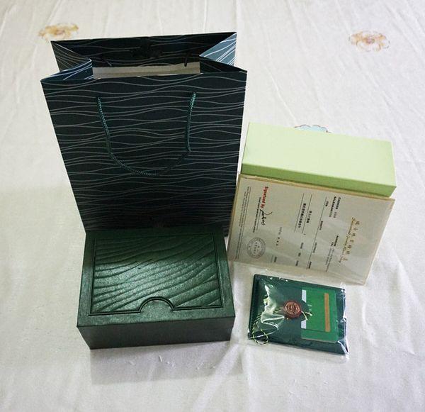 Original caixa de presente top marca de luxo aaa qualidade watch papercard bolsa de relógio de pulso case 0.8 kg 185mm * 134mm * 84mm para 116610 116660 116710 relógios