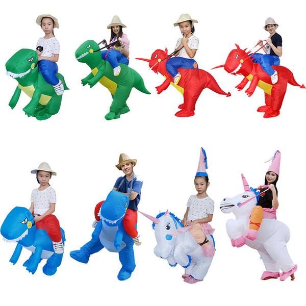 Traje de la mascota de Halloween para adultos para hombres mujeres Disfraces de traje de pene inflable atractivo Dick mono vestido de dinosaurio divertido