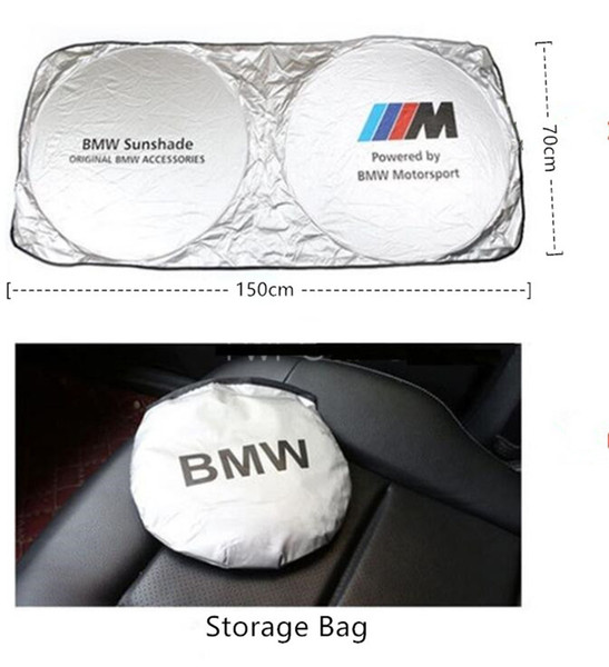 Parabrezza universale per auto Parasole Blocchi Raggi UV Visiera parasole pieghevole per BMW Benz Audi Toyota Lexus Honda Volvo Cadillac Alta qualità
