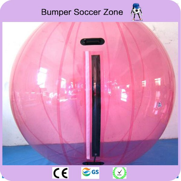 Free Shipping 2m Inflatable Water Walking Ball Water Rolling Ball Water Balloon Zorb Ball Inflatable Human Hamster Plastic