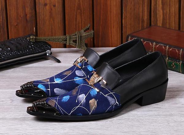 Männer Kleid Schuhe Plus Größe 39-46 Männer Business Flache Schuhe Schwarz Blau Atmungsaktiv Low Top Männer Formelle Büro Schuhe