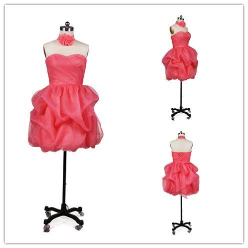Реальная картина Красный элегантный цветок девушки платья плиссированные Tull юбка ручной работы шеи цветок для детей свадьба Pageant платья