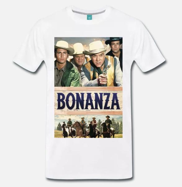 08a00b7e0cf T SHIRT MAGLIA BONANZA WESTERN SERIE TV VINTAGE 1 Shirt ...