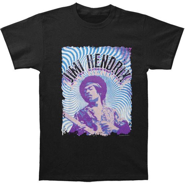 Camiseta Hendrix Blue Waves para Homens, Jimi Hendrix