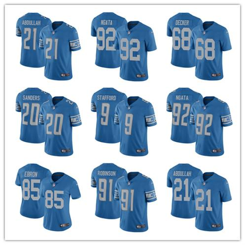 789cae0a 2019 Men Detroit Lions Jerseys #9 Matthew Stafford 23 Darius Slay 15 Golden  Tate III 20 Barry Sanders Football Jerseys Color Rush Limited From ...