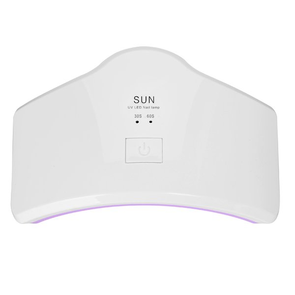 Großhandels-Fachmann SUN LED Nagel-UVlampen-Licht 24W tragbarer Regenbogen formte LED-Lampen-Nagel-Trockner CuringArt Trockner Ma für UVgel-Polnisch