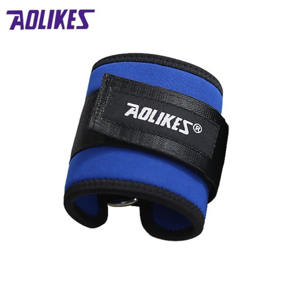 D-ring Adjustable Ankle Guard Strap Thigh Leg Pulley Gmy Weight Lifting Legs Strength Recovery Training Protection Hot