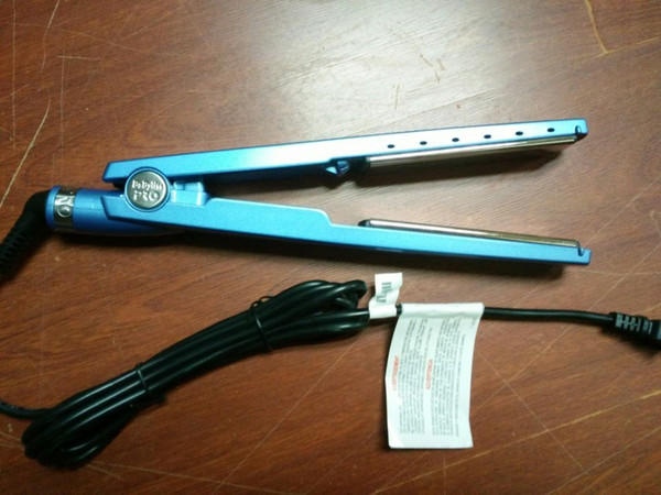 NEW! PRO Na-No! TITANIUM 1 1/4 plate Flat Iron Ionic Hair Straightener DHL free shipping