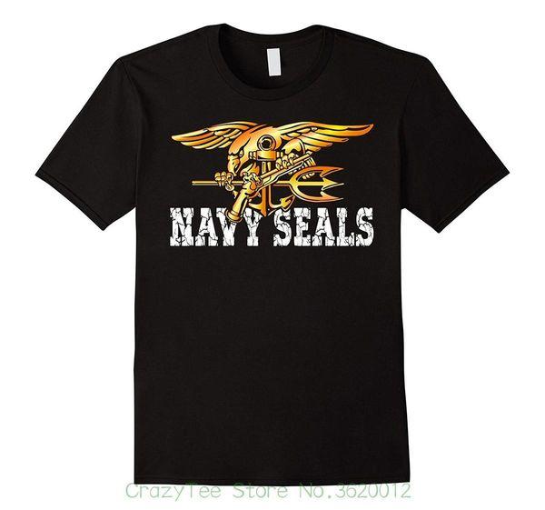 100% Cotton Short Sleeve O-neck Tops Tee Shirts U.s. Navy Seals Original Seals Team T-shirt
