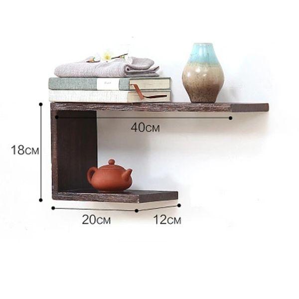 2019 Solid Wooden Wall Mounted Shelf Bedroom Living Room Wall Shelves  Bookshelf From Tzmeixiang1, $90.46 | DHgate.Com