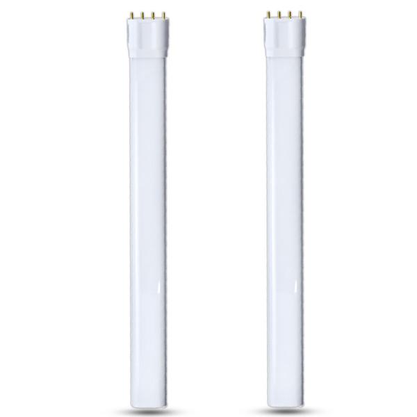 2G11 4 Pin Bulb 18W 2G11 LED Base PL Lamp AC85-265V Tube Plug-in Tubular Horizontal Light Bulbs 36W CFL Replacement Lamp Bulb