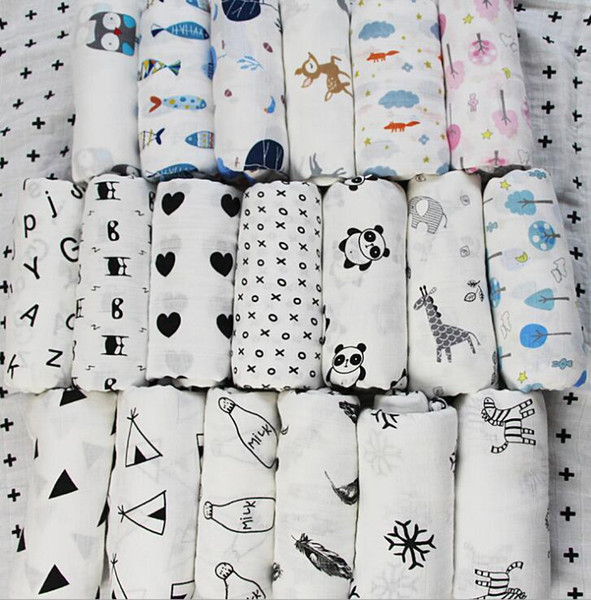 120*120CM Aden Anais Swaddles Muslin Baby Blankets Ins Bath Towels Blankets Wraps Newborn Cotton Swadding Muslin Baby Blankets KKA4210