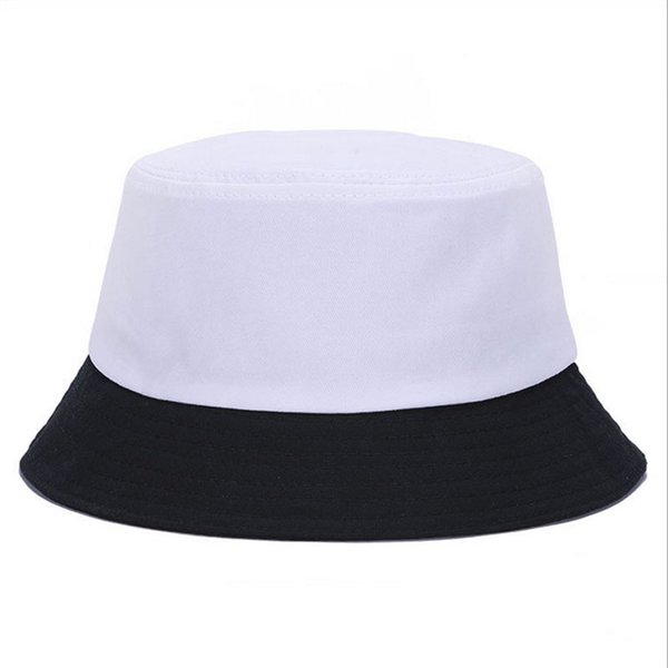 Korean jelly-colored Solid Color Bucket Hats for Men Panama Women Hat fisherman hat Street DIY portable basin tide visor