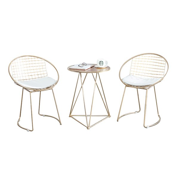 Super 2019 Fashion Metal Steel Leisure Bar Chair Iron Wire Chair Hollow Back Gold Dining Coffee Metal Bar Chairs Set Tea Table Living Room Furniture From Forskolin Free Trial Chair Design Images Forskolin Free Trialorg