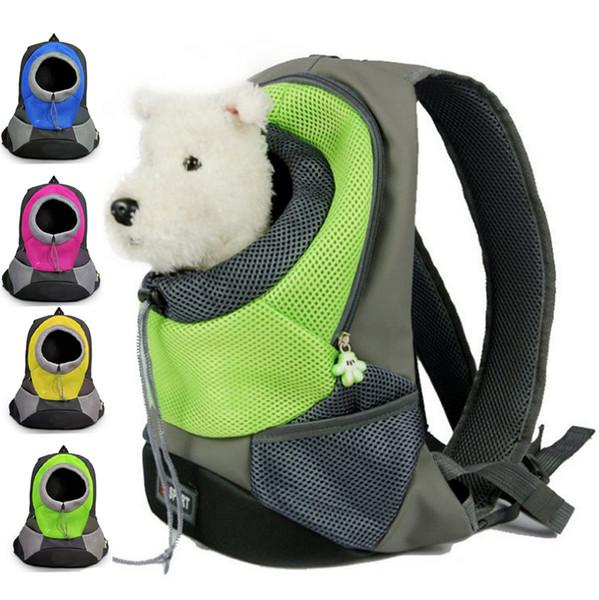 Compre Mochila Para Perros Portador Para Mascotas Bolso Para Mascotas Para Perros Portadores De Kat Portátil Bolso De Viaje Para Mascotas Frente Del