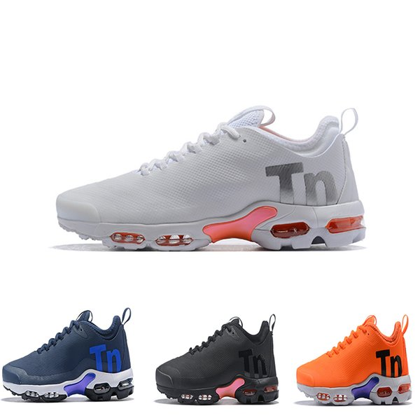 2019 tn plus Mens Women Mercurial Ultra SE Black White Orange Desinger Running Shoes Womens Men Trainers Sports Sneakers