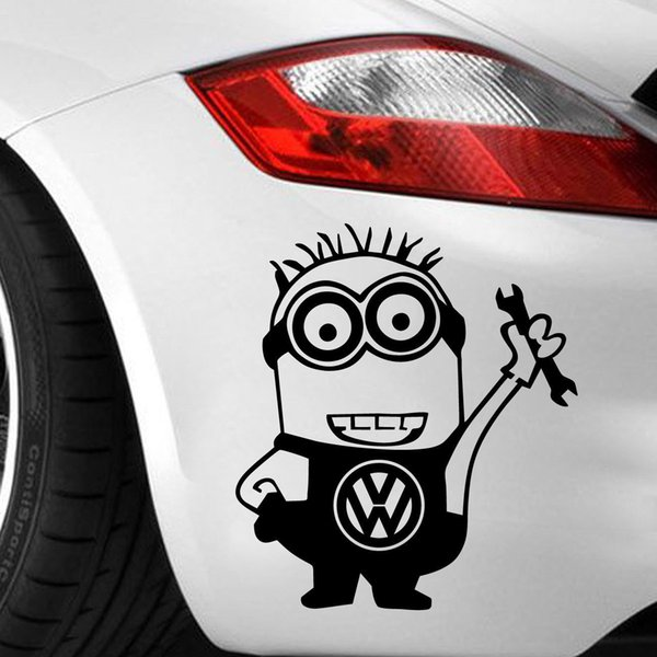Carro-adesivo-decalque-vinil-Volkswagen-VW-wag-engraçado-JDM-Dope-Bumper ca-221