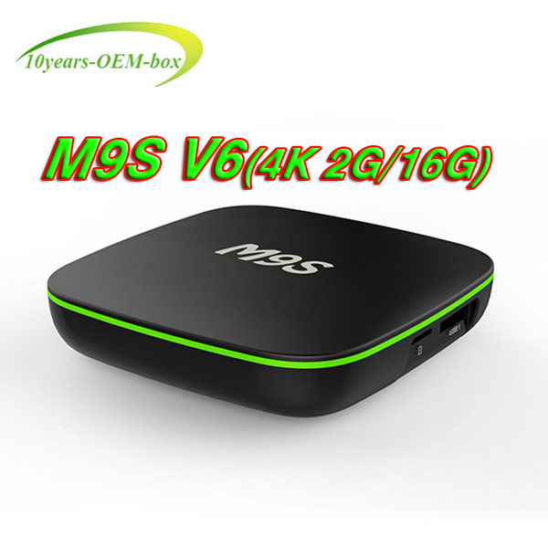 2GB RAM 16G Bluetooth Android 7.1 TV BOX M9S V6 4K RK3229 Smart Box Quad Core HDMI 2.0 WIFI H.265 4K Media Player better T95X T95N T95M