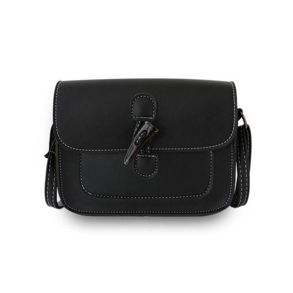 Women Summer Shoulder Bag Solid Crossbody Bags For Women Phone Money Black Sac A Main Pu Leather Cross Body Bags