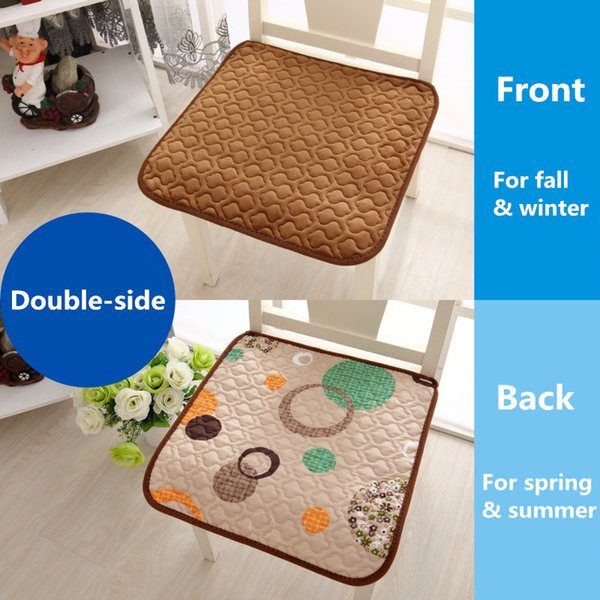 Cool Double Sided 4 Seasons Office Chair Seat Cushions Home Decor Sofa Throw Pillow 4 Sizes Buttocks Chair Cushion Almofadas Cojines Dining Pads Cushions Ncnpc Chair Design For Home Ncnpcorg