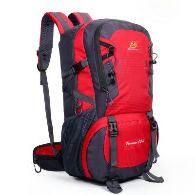 Factory Direct Sports Outdoor Large Capacity Waterproof Mountaineering Backpack Unisex Outdoor Camping Hiking Travel Riding Backpack