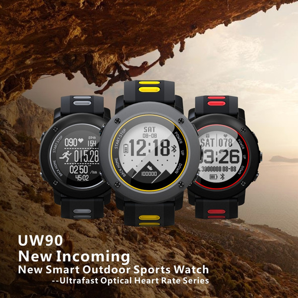 UWear Smart Watch Outdoor Sports running IP68 Waterproof The treadmill Watch Passometer Touch smartwatch Activity Tracker