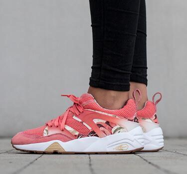 Blaze Of Glory x Careaux x Baskets de training roses en porcelaine graphique, 2018 nouvelles chaussures de course sportive, chaussures de sport pour hommes