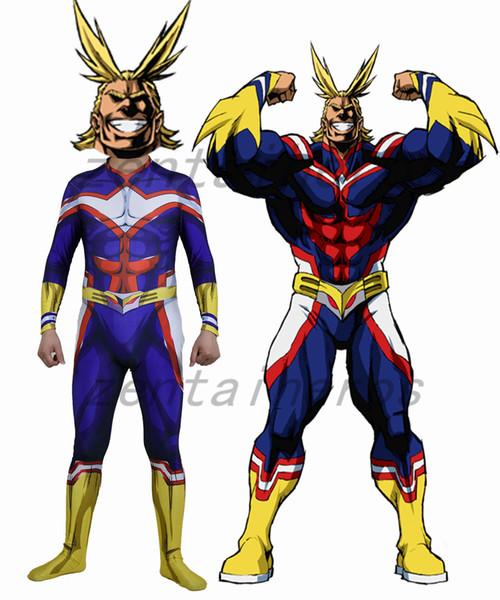 3d printed my hero academia boku no hero academia superhero lycra zentai bodysuit halloween cosplay party suit
