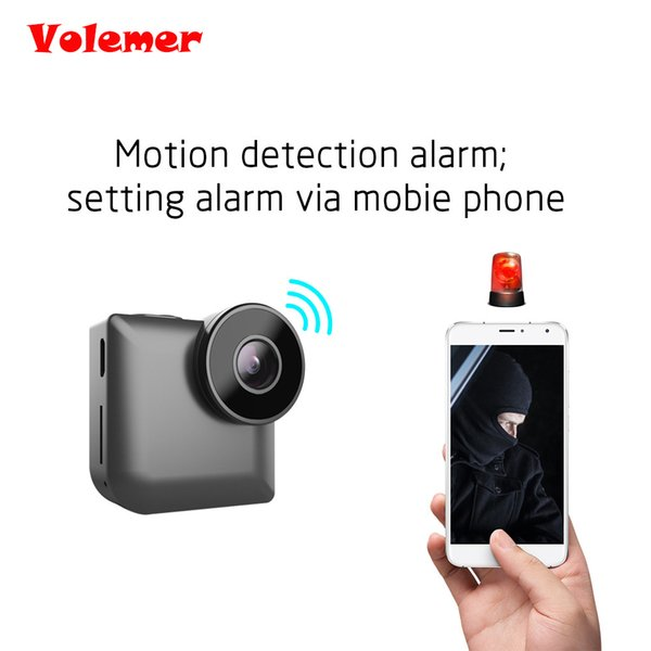 Volemer C3 HD 720P Mini Camera Wifi IP Control Night Vision Video Recording Micro Camara Motion Detection Mini Kamera Nancy Cam