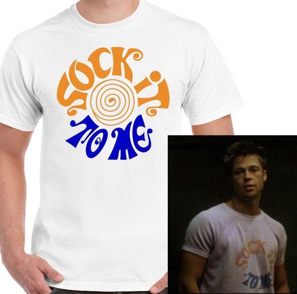 Tel que porté par Brad Pitt Tyler Durden du film Fight Club Movie Mens drôle T-Shirt Casual drôle livraison gratuite Unisexe tee cadeau