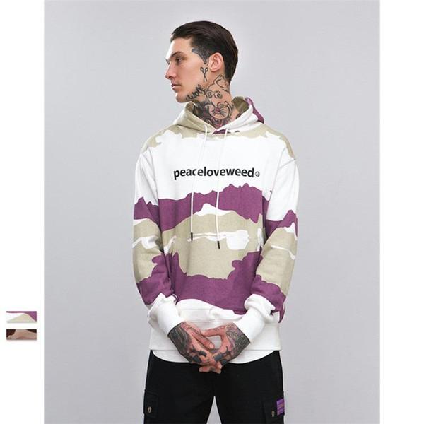 Men Hoodies Original Designer Spring Autumn Tracksuits Hooded Men Male Warm Camouflage Sweatshirt Tracksuit High Street Clothing