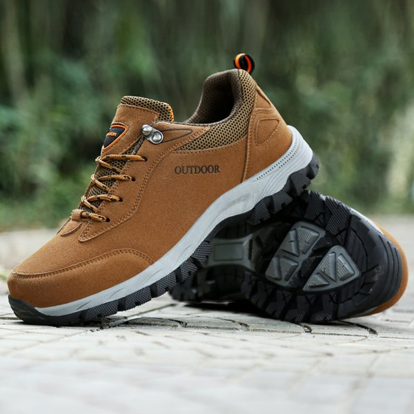 Popular Brand Men Hiking Shoes For adults Outdoor Sports Climbing Mountain male Sneakers Athletics Trekking Shoes big size 39-47