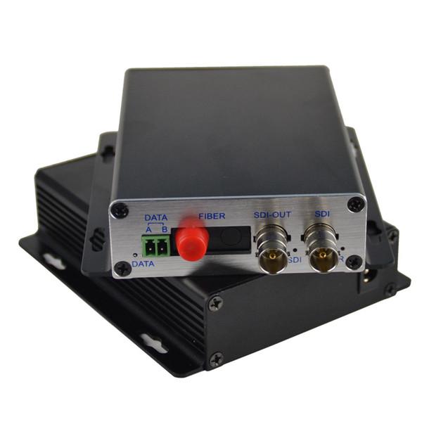 HD-SDI Optical Transceiver - SDI Video Media converters Transmitter and Recevier -Video Audio RS485 data over fiber, S/M 20Km
