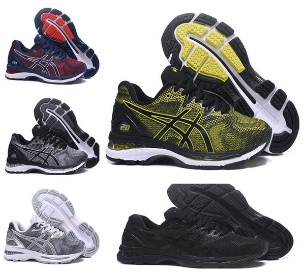 Gel-Nimbus 20 Original Running Shoes Gel-Nimbus 20 Black Green Blue Red Men New Cheap Basketball Shoes Discount Sneakers