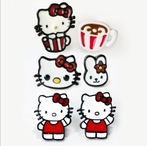 Acheter Es De Couleurs De Goutte D Huile Serie Hello Kitty Dessin