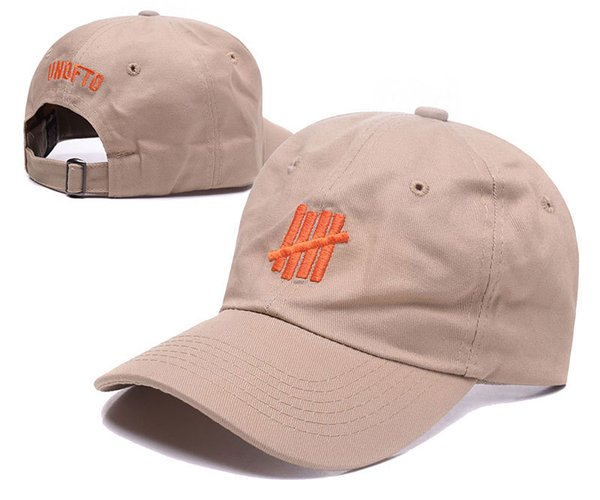 Undefeated baseball caps casual bone gorras dad hat strap back 6 panel cotton hip hop cap hat for men women